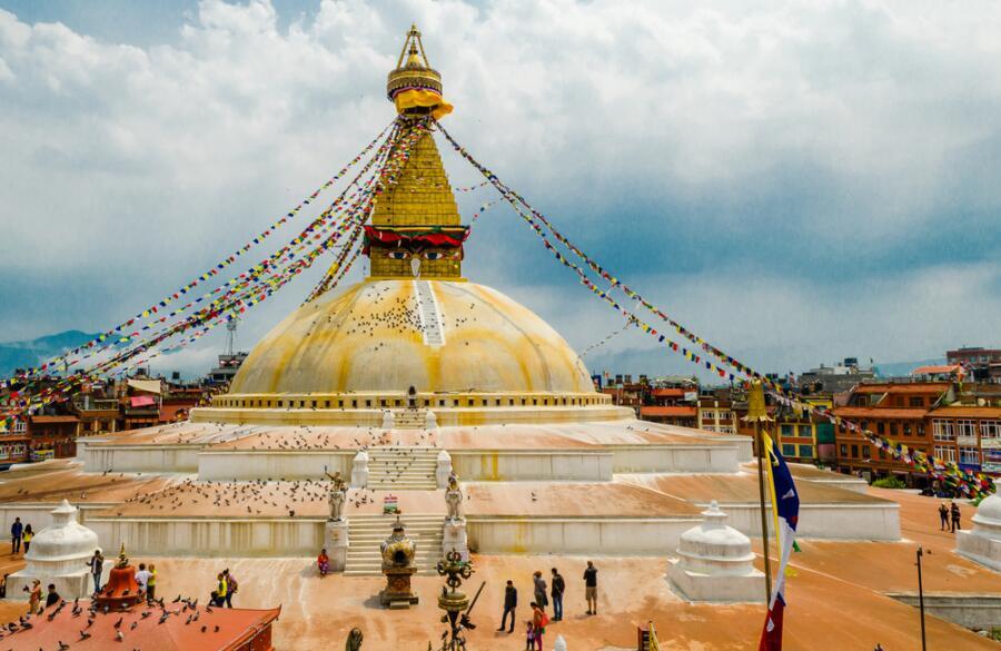Ступа Просветления в Катманду