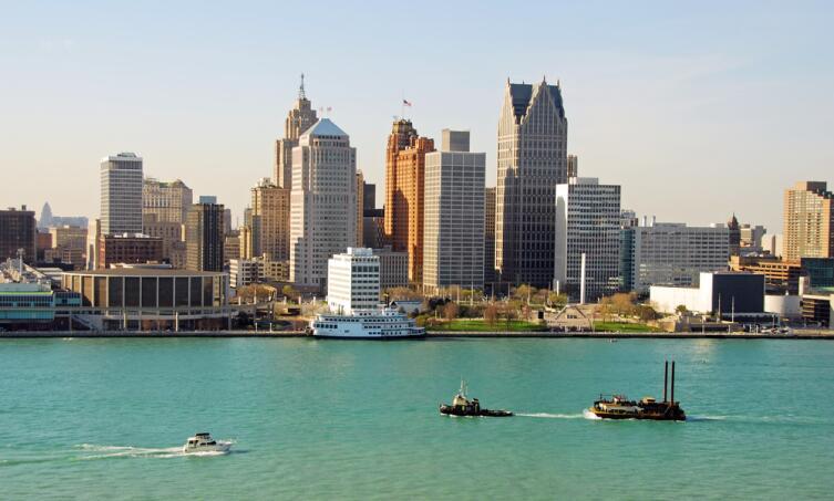 Сейчас Детройт - огромный город-миллионник