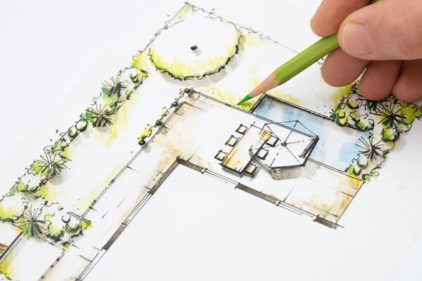 Как распланировать, где и что посадить в саду? Конвертный метод