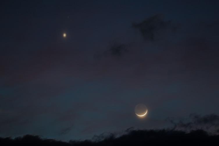 Так Венера выглядит с Земли