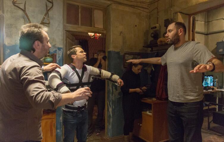 Кадр со съемок сериала