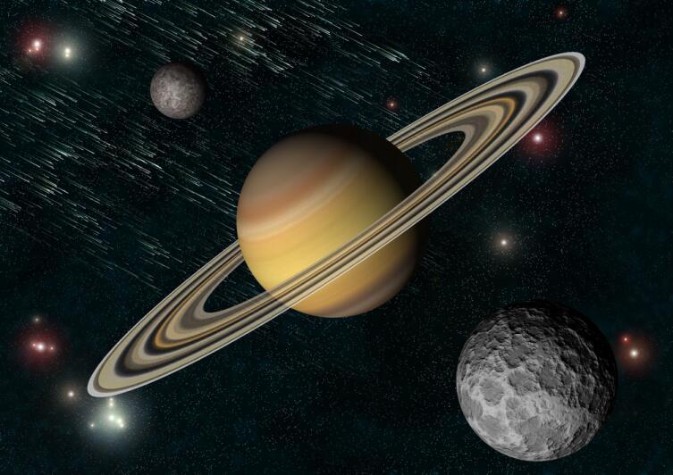 кольца Сатурна только считаются ледяными, на самом деле их составляют глыбы газогидратов из воды и углеводородов