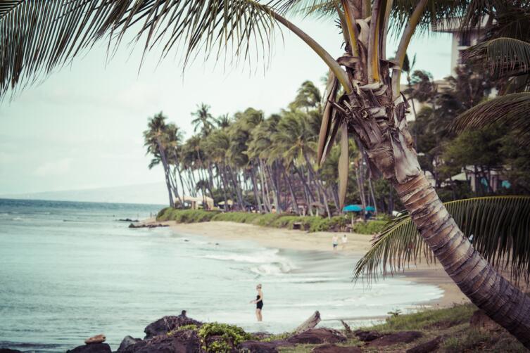 Пляж Каанапали
