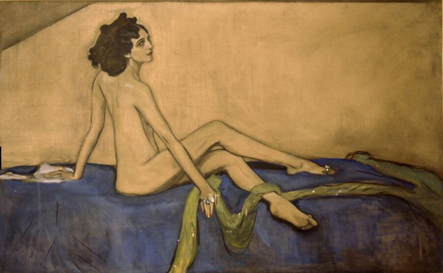 В. А. Серов, «Портрет Иды Рубинштейн», 1910 г.