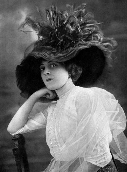 Ида Рубинштейн, 1912 г.