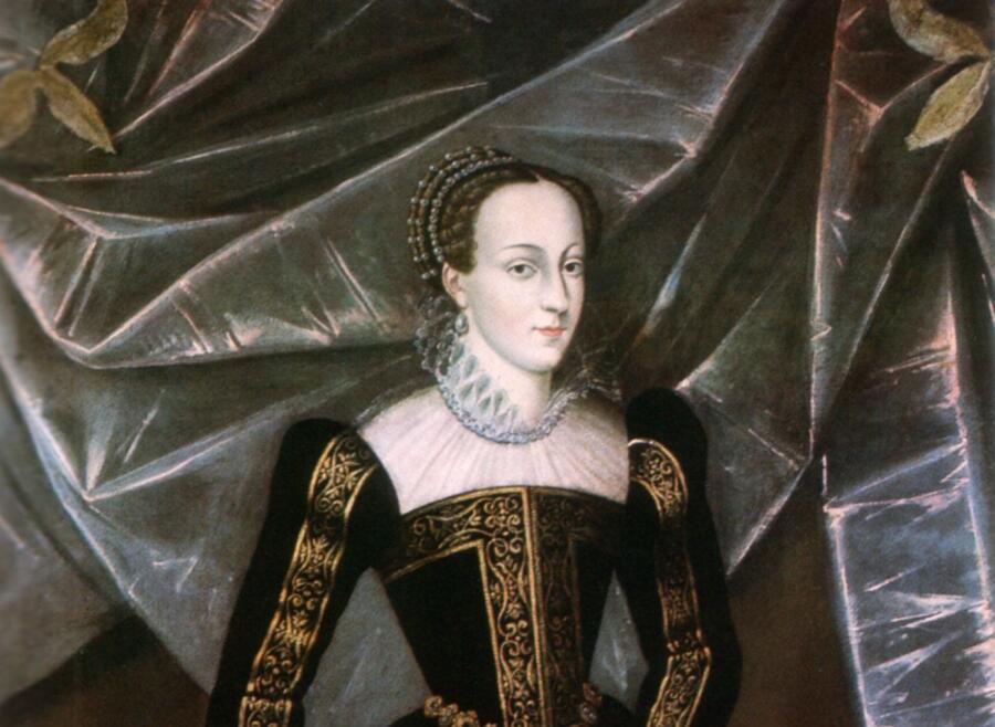 Автор неизвестен, «Мария I Стюарт» (фрагмент)