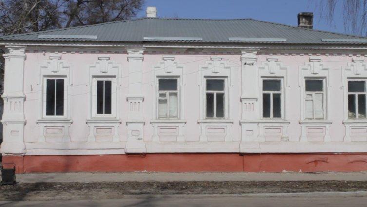 Старинная застройка г.Боброва
