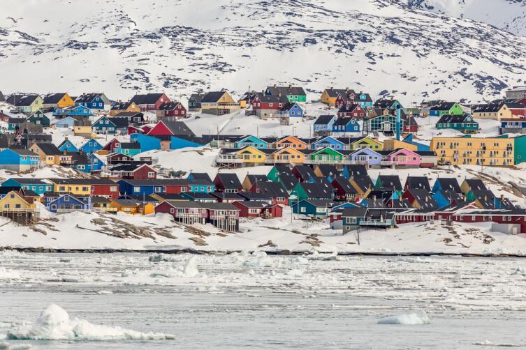Илулиссат - город в Гренландии