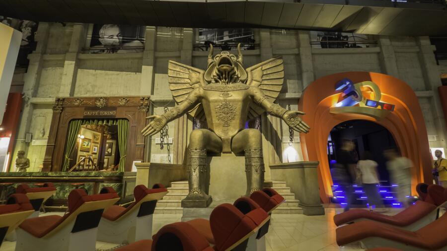 Музей кинематографии в Моле Антонеллиане, г. Турин, Италия