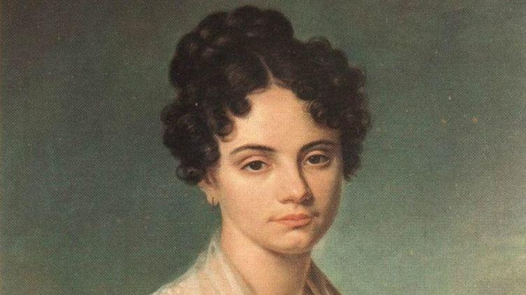 Неизвестный художник, «М. Н. Волконская»