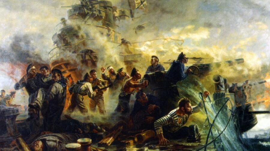 П.Т. Мальцев, «Крейсер «Варяг»», 1955 г.