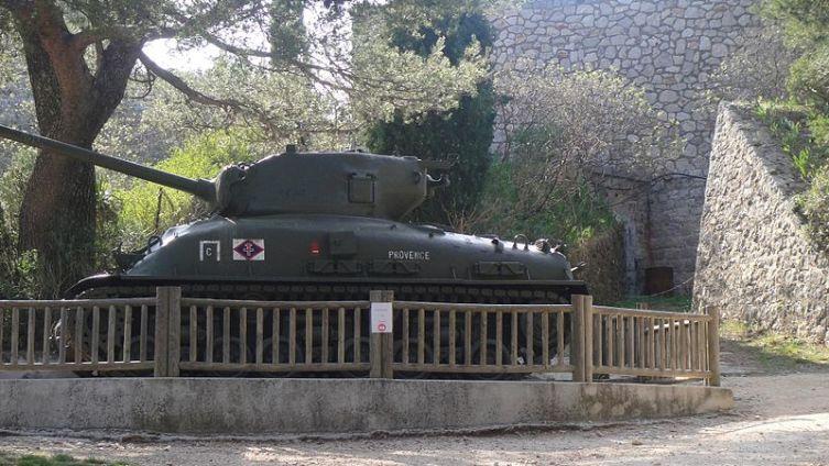 Военный мемориал на горе Фарон в Тулоне