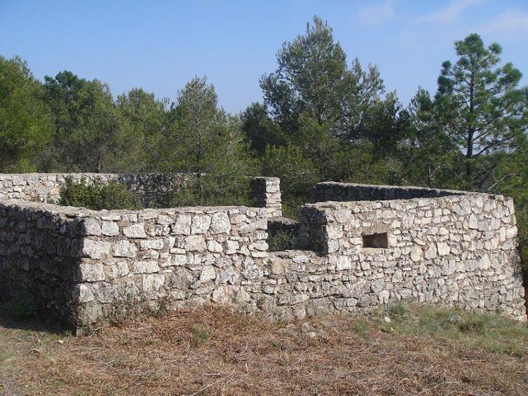 Остатки фортификационных сооружений