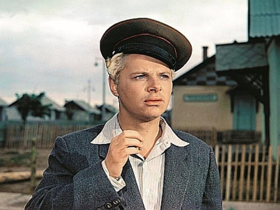 Кадр из фильма «Иван Бровкин на целине», режиссер И. Лукинский
