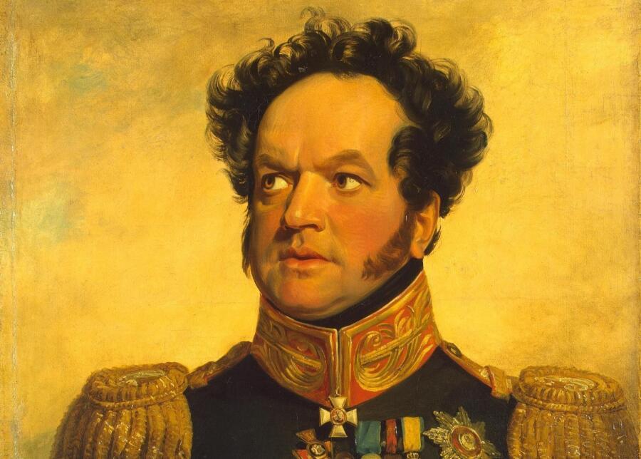 Джордж Доу, «Павел Васильевич Голенищев-Кутузов», 1824 г.