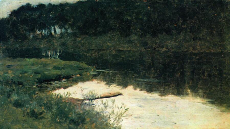 И. И. Левитан, «Абрамцево», 1880 г.