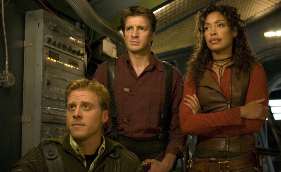 Кадр из сериала «Светлячок», 2002 г.