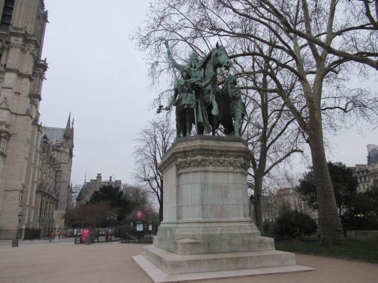 Памятник Карлу Великому, скульптор Луи Роше, 1878 г.