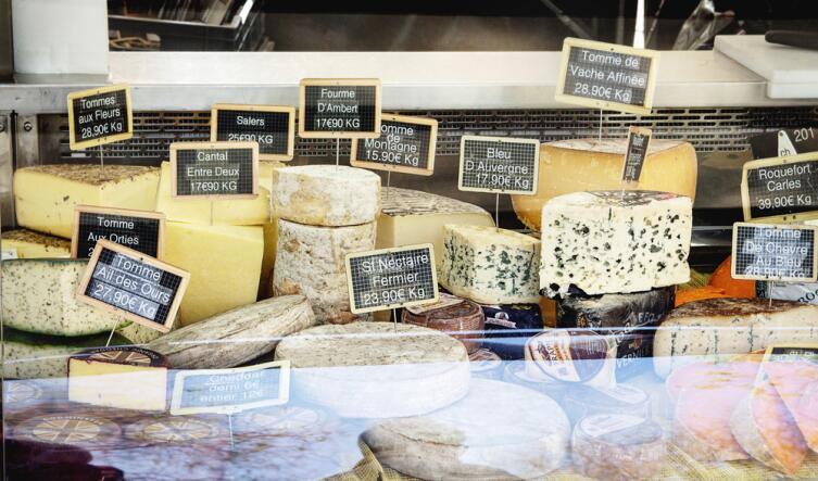 Будете в Париже, отведайте сыра