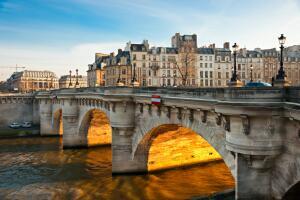 Чем Париж отличается от наших городов, а наши люди - от парижан?