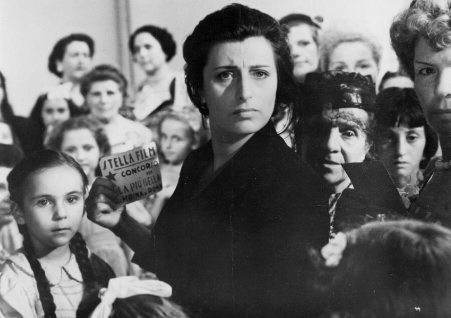 Кадр из фильма «Самая красивая», 1951 г.