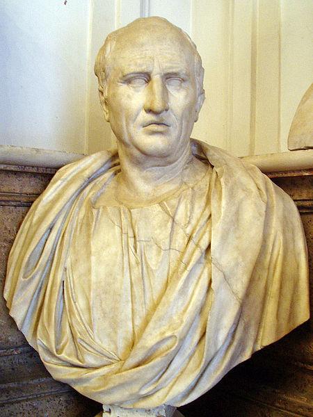 Цицерон считал, что хороший оратор обязательно должен быть эрудированным