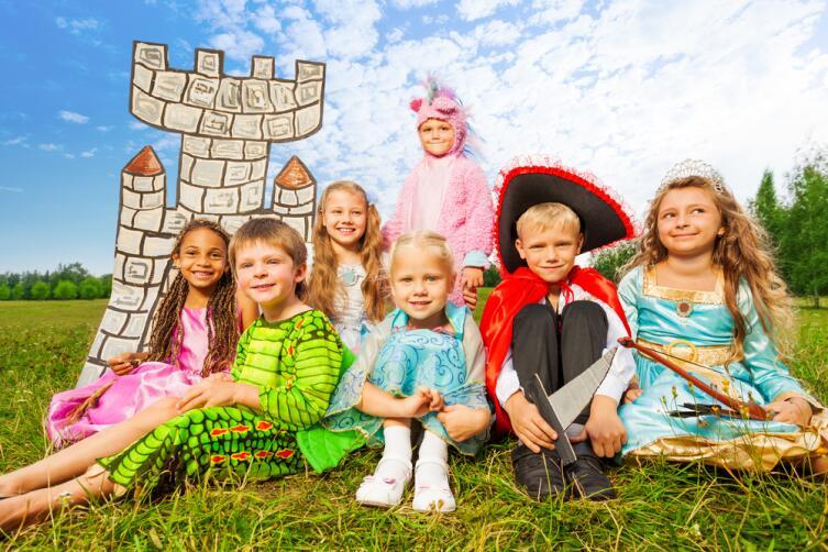 Детям очень полезно участвовать в спектаклях