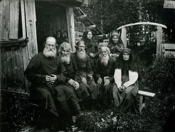 Староверы на фото от 1897 г.