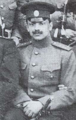 В. О. Каппель, 1913 г.