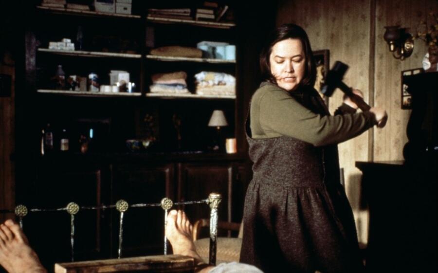 Кадр из фильма «Мизери»