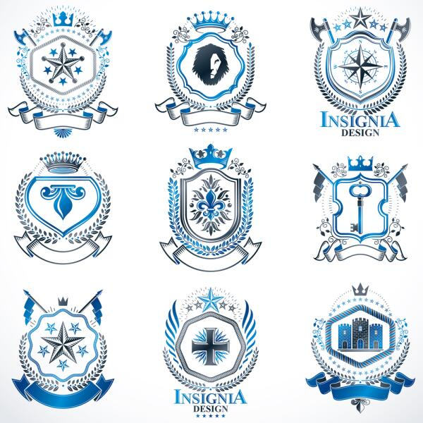 Фигуры и изображения на гербе могут быть самыми разными