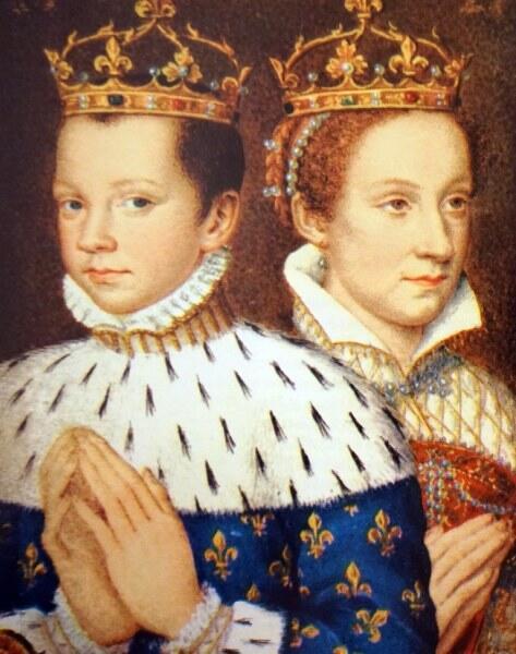 Франциск II и Мария Стюарт