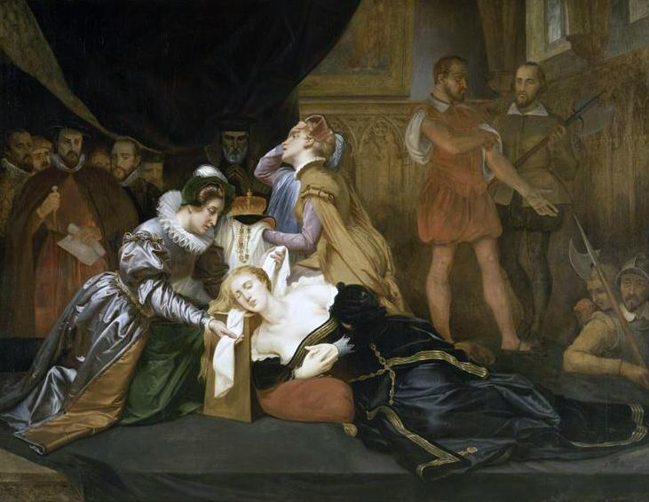 Казнь Марии Стюарт