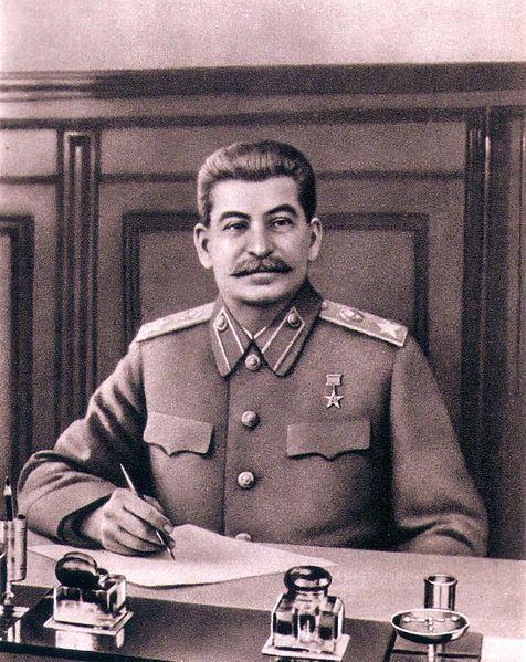 И. Сталин границы закрыл