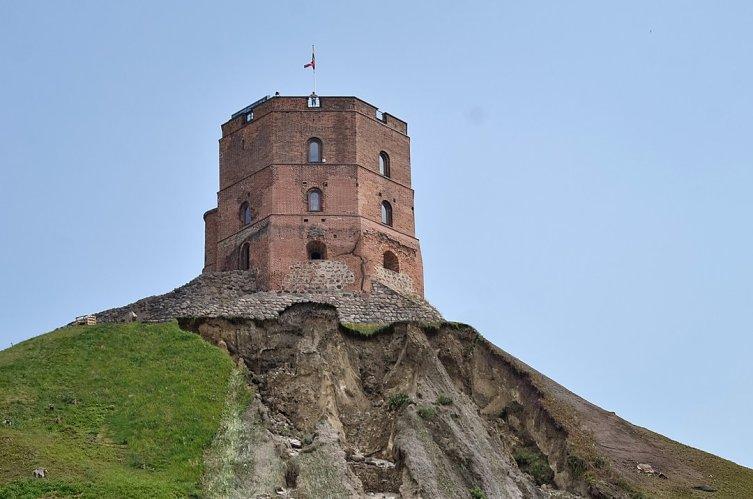 Замковая гора и башня Гедиминаса