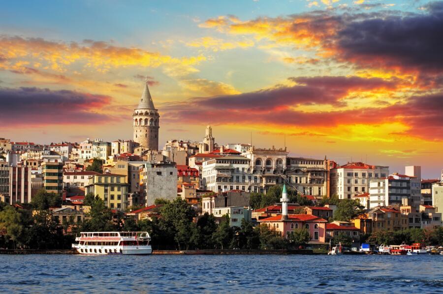 Стамбул на закате