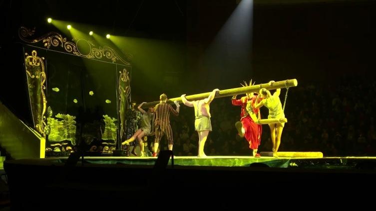 Представьте себя в цирке