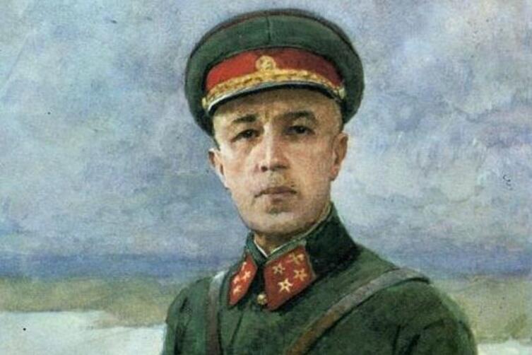 Генерал Д. М. Карбышев