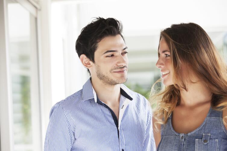 Мужчине важно, чтобы женщина смотрела ему в глаза