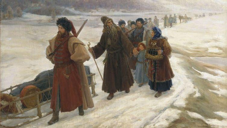 С. Милорадович, «Путешествие Аввакума по Сибири», 1898 г.