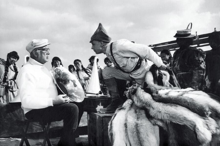 Кадр из фильма «Начальник Чукотки», 1966 г.