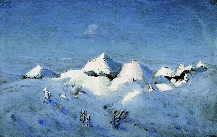 А. И. Куинджи, «Зима», 1890-е гг.