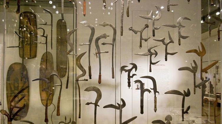 Коллекция в Британском музее, Лондон