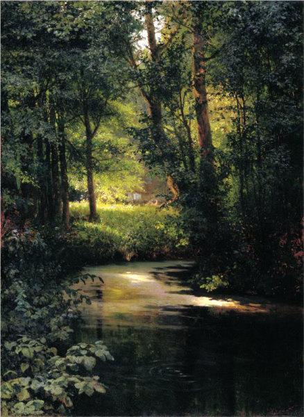 Г. Г. Мясоедов, «Лесной ручей»