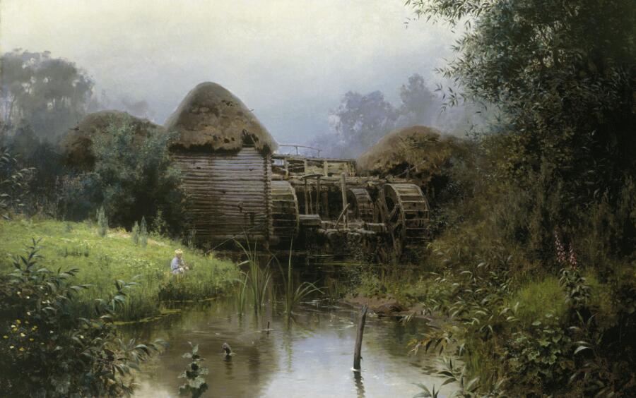 В. Д. Поленов, «Старая мельница», 1880 г.