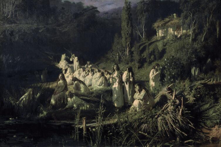 И. Н. Крамской, «Русалки», 1871 г.