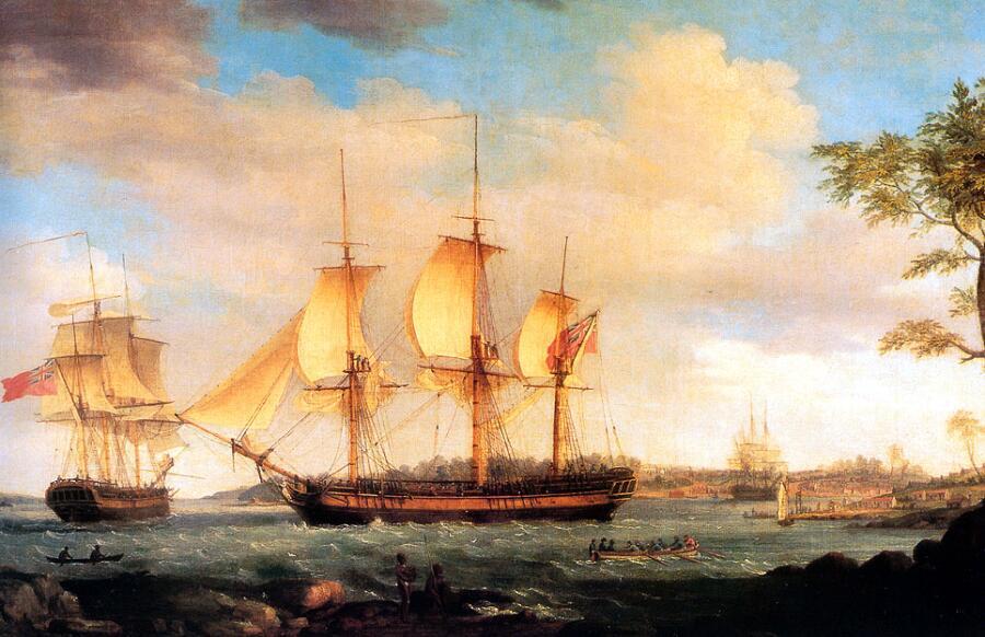 Томас Уитком, «Отправление китобойного судна»