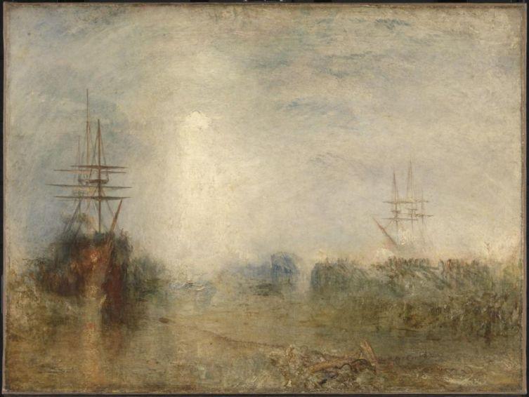 Джозеф Мэллорд Уильям Тёрнер, «Застрявшие во льдах китобои пытаются освободиться», 1846 г.