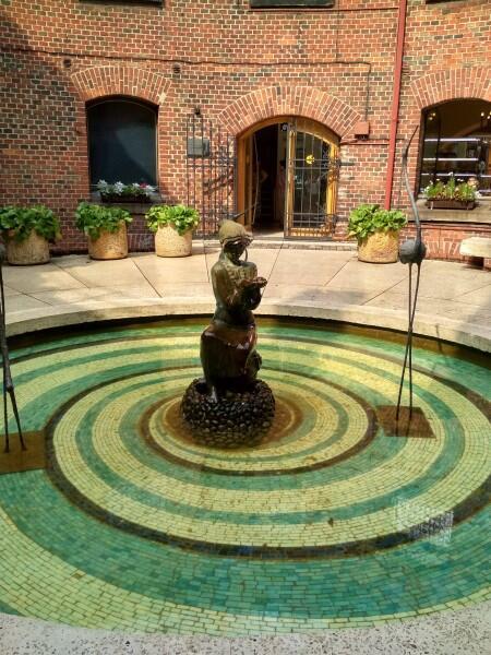 Двор Музея янтаря