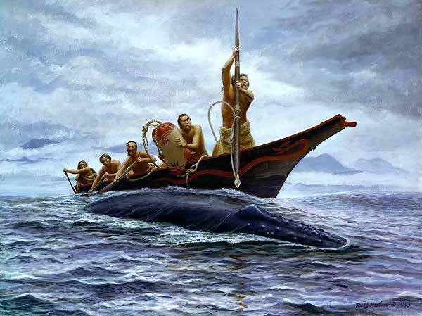 Билл Холм, «Охота на кита», 1995 г.